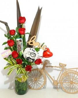 """Arreglo floral """"Encantados"""""""